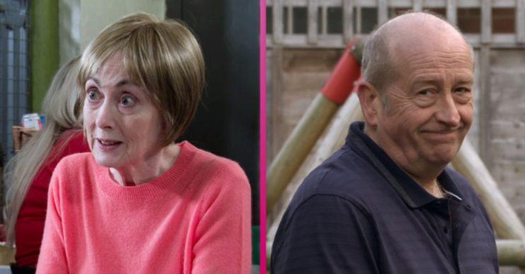 Elaine and Geoff Coronation Street
