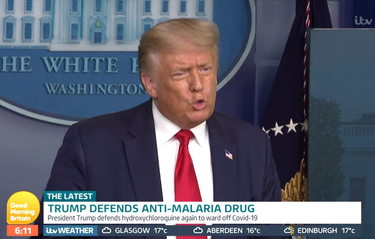 Donald Trump (Credit: ITV)