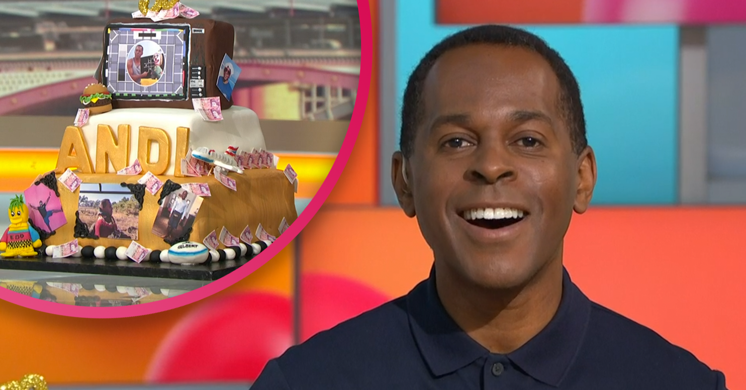 Andi Peters' real age shocks GMB viewers as he celebrates his birthday live on air