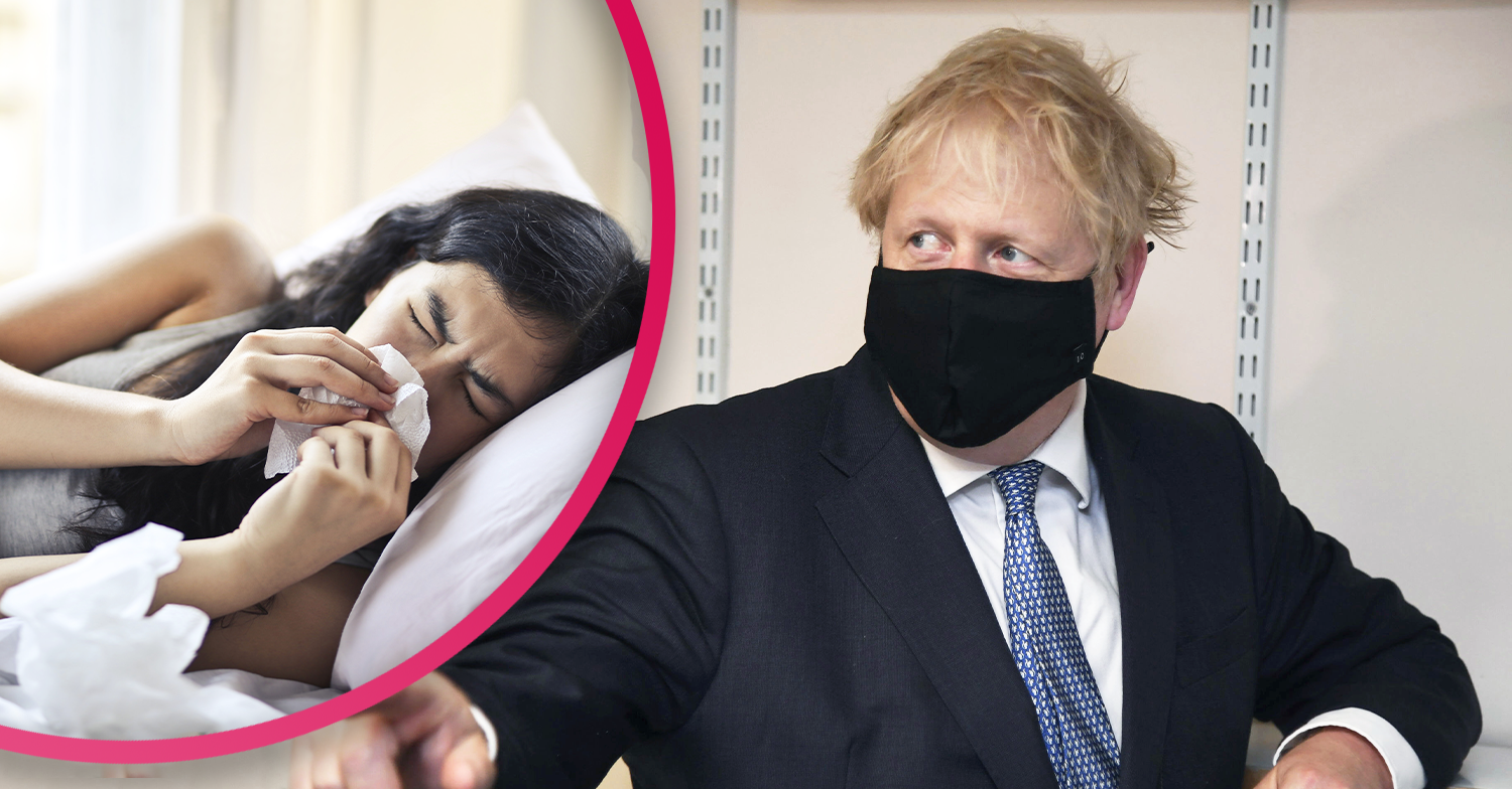 Boris Johnson 'extremely concerned' second wave will hit the UK within two weeks