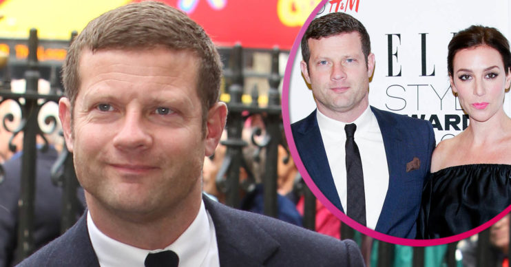 Dermot O'Leary and his wife