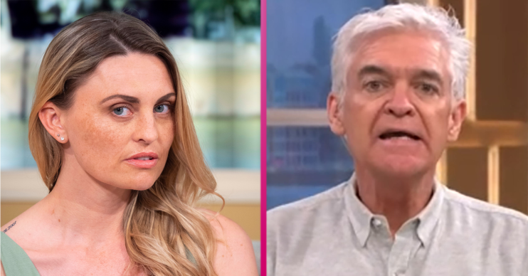 Carla Bellucci Phillip Schofield This Morning