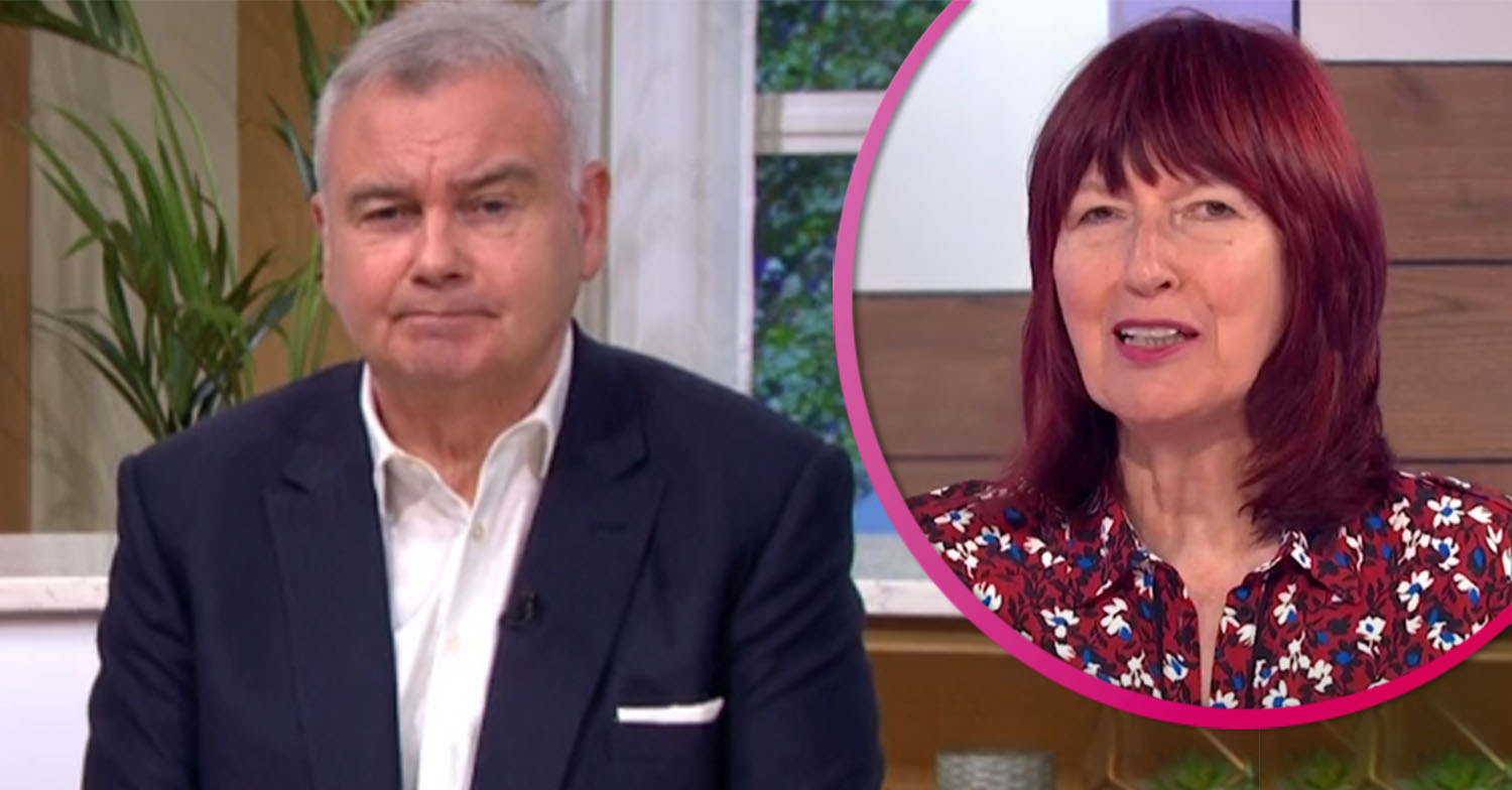 Eamonn Holmes told off as he makes dig at Janet Street Porter's age