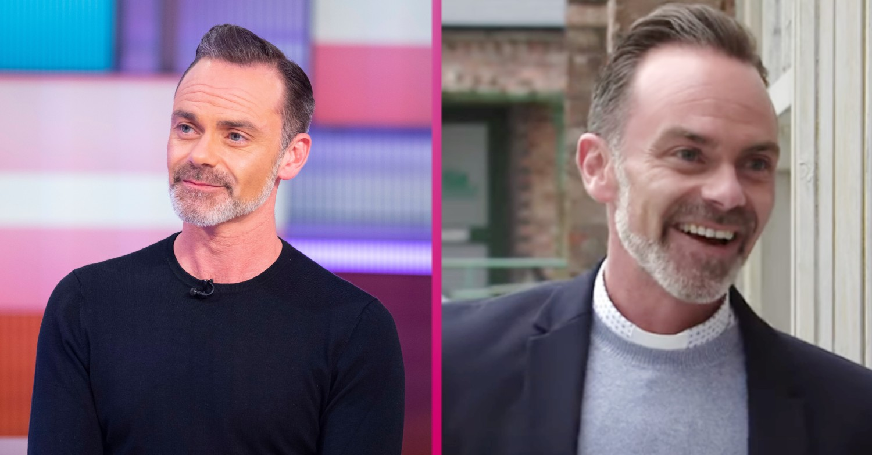 Coronation Street actor Daniel Brocklebank reveals co-stars' two-stone weight gain