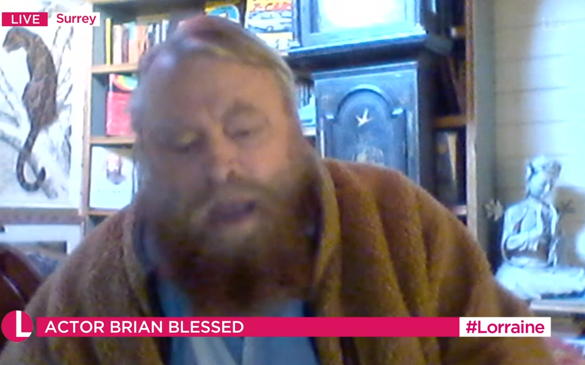 Brian Blessed (Credit: ITV)