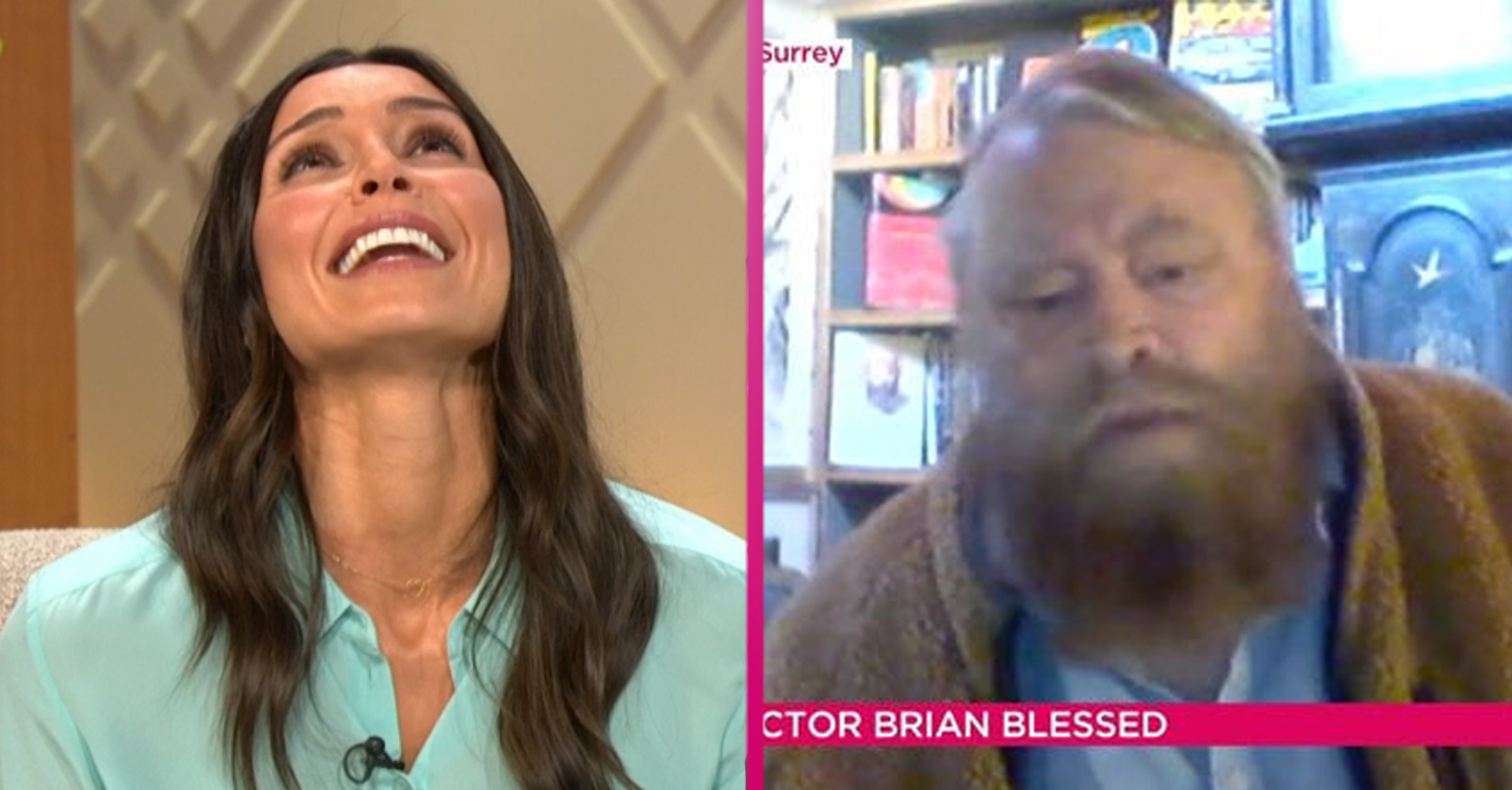 Christine Lampard apologises after Brian Blessed swears at COVID-19 on Lorraine