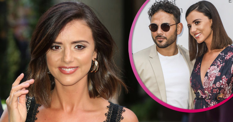 Lucy Mecklenburgh and Ryan Thomas weight