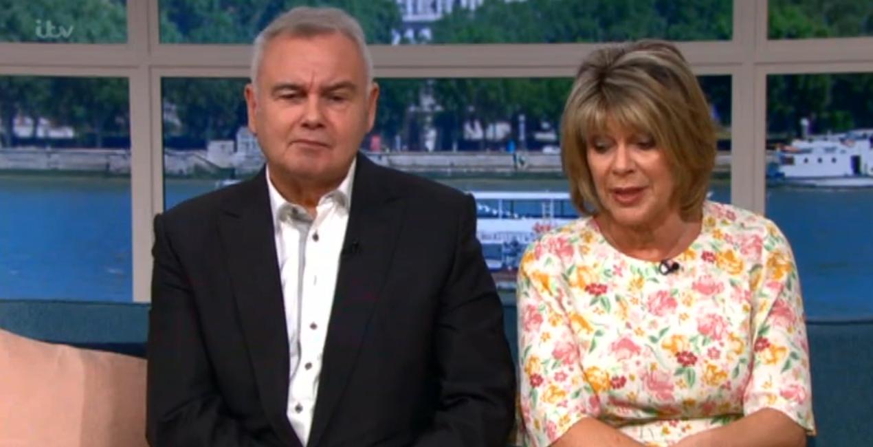 Eamonn Holmes Ruth Langsford This Morning ITV