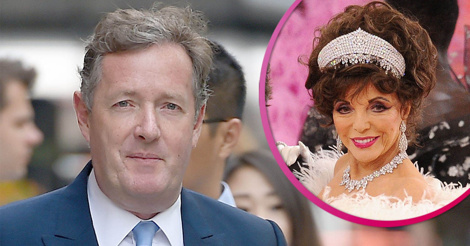 Piers Morgan confuses fans over lack of social distancing in holiday snap with Joan Collins
