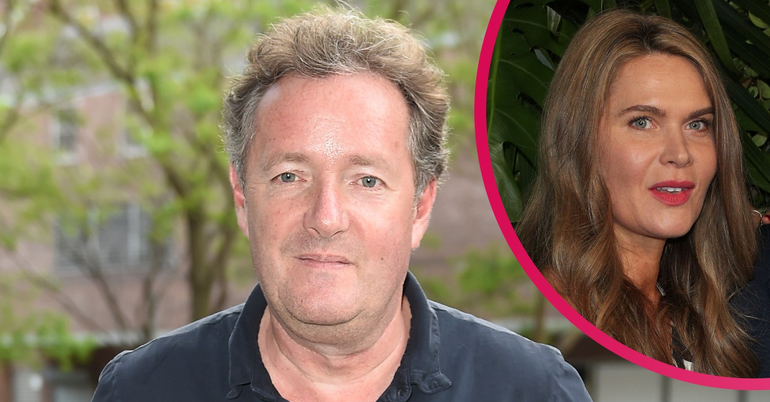 Piers Morgan mocks wife Celia Walden's bag during French Riviera holiday