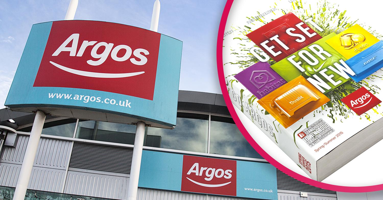 Argos says goodbye to famous catalogue