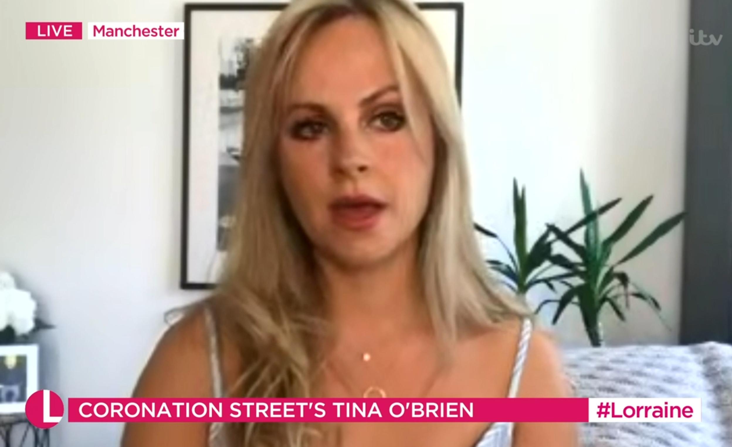 Tina O'Brien Coronation Street Lorraine