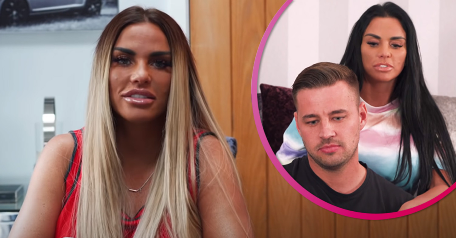 Katie Price thanks boyfriend for looking after her as she reveals her broken feet after injury on holiday