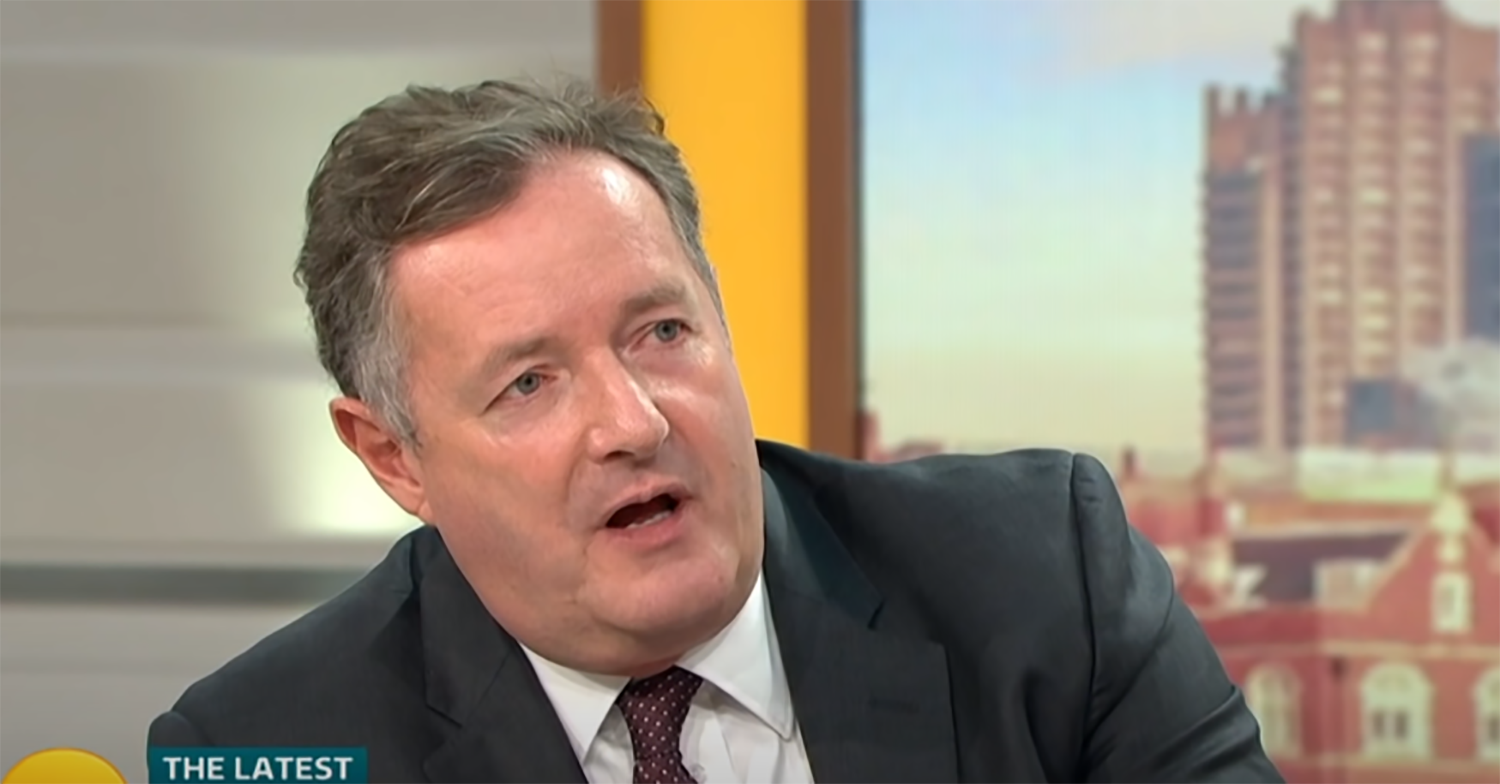 Piers Morgan outs 'nice' TV stars as 'diabolical' in real life