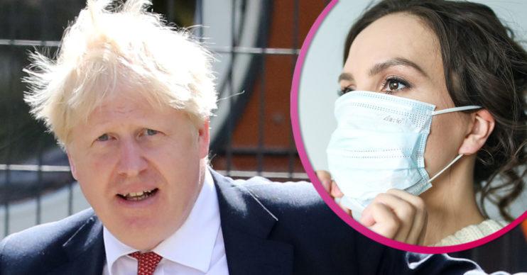 Boris Johnson face masks rules