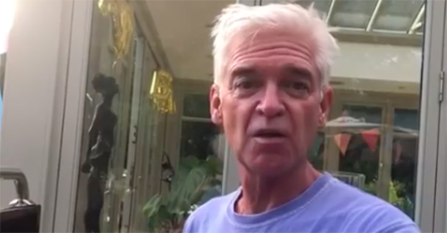 Phillip Schofield gives fans a rare insight into his summer holiday with huge barbecue