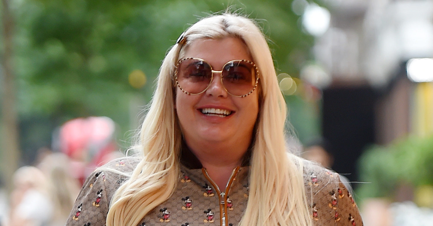 Gemma Collins showcases weight loss as she wows in lacy see-through bodysuit