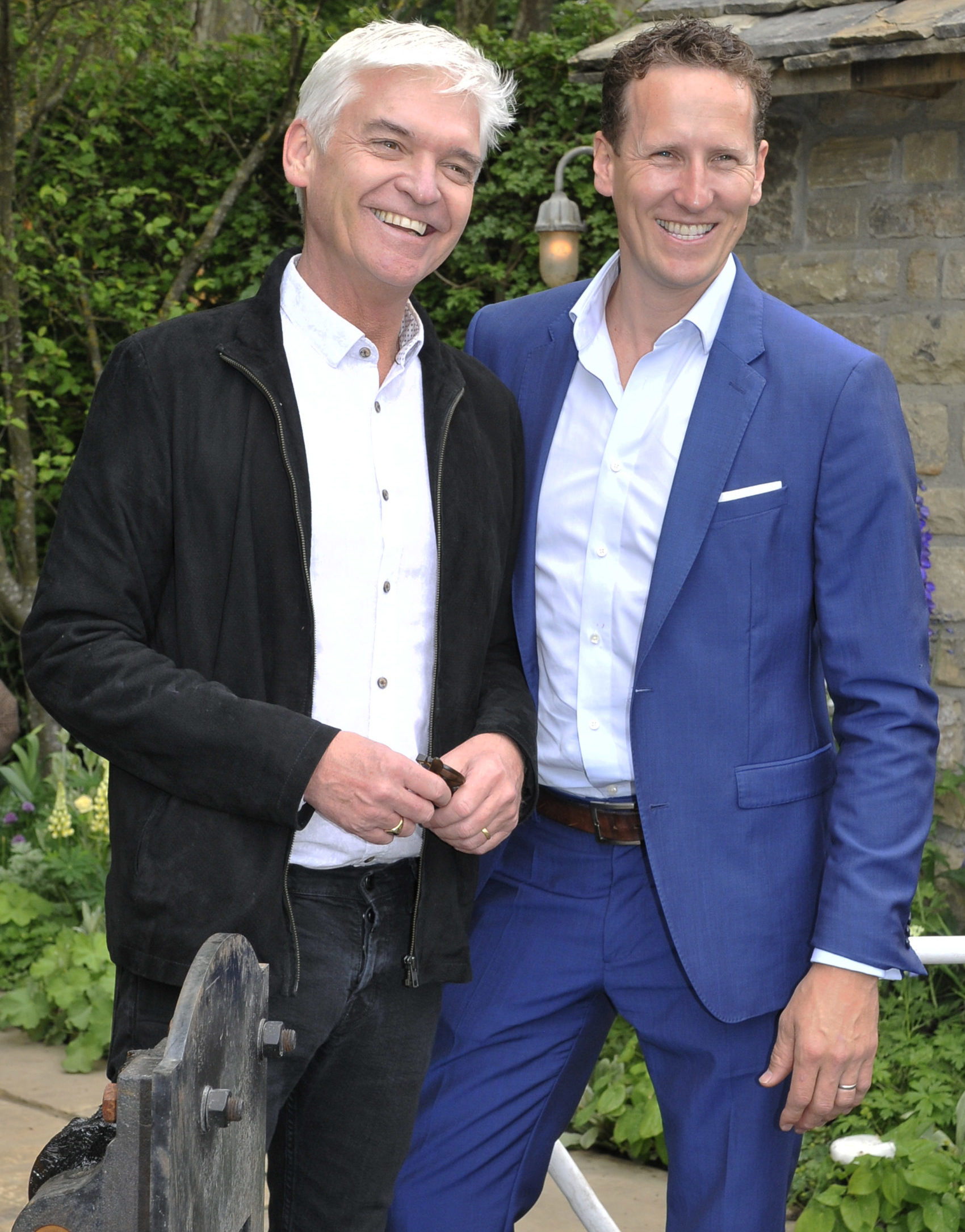 Philip Schofield and Strictly's Brendan Cole