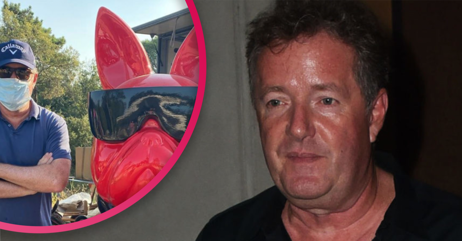 Piers Morgan shows off unusual find on French flea market during holiday