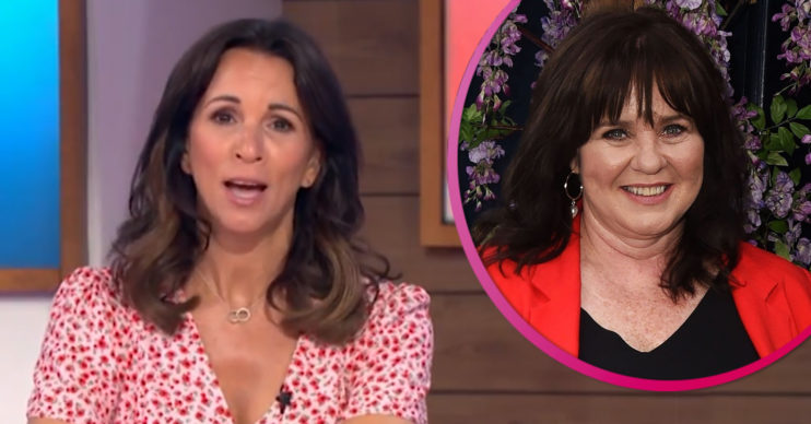 Andrea McLean and Coleen Nolan
