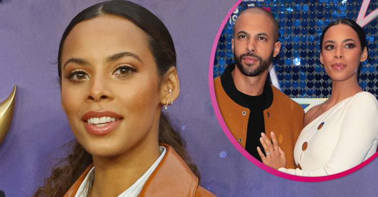 Rochelle Humes and husband Marvin