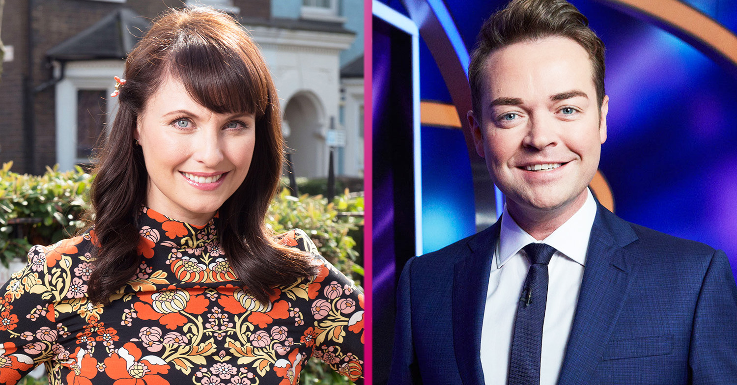 Why did Emma Barton and Stephen Mulhern split up and who is she dating now?