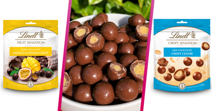 Lindt chocolate cereal balls