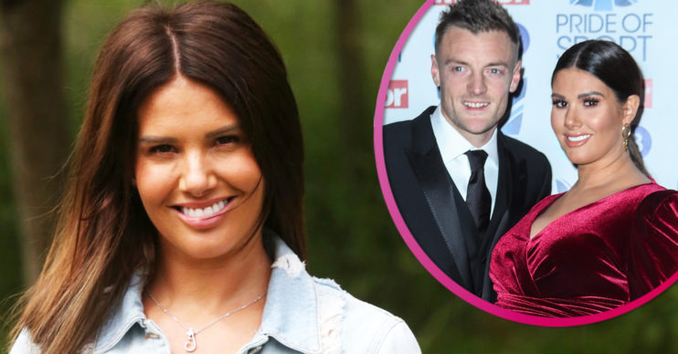 Rebekah Vardy and husband Jamie