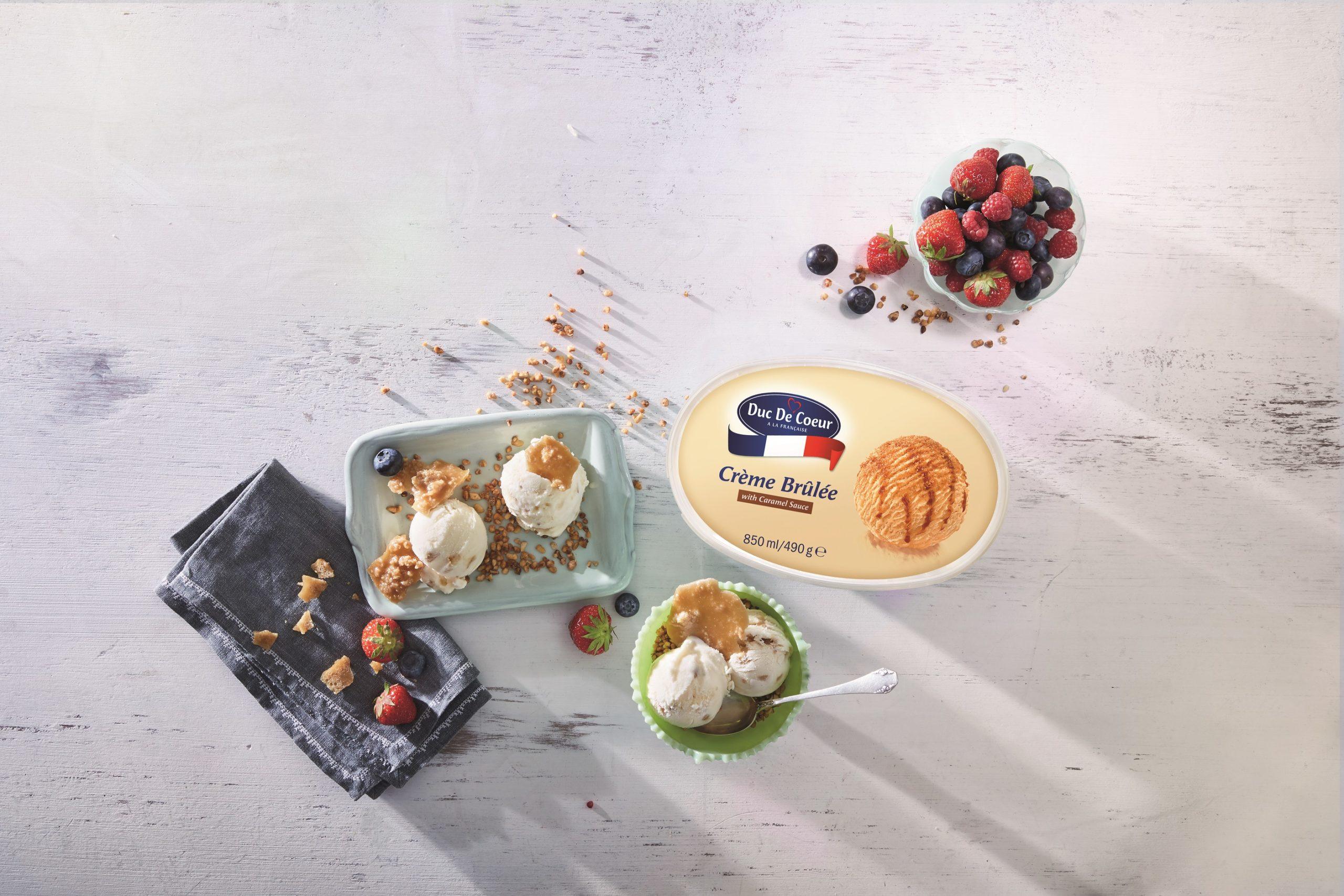 Lidl Crème Brûlée ice cream