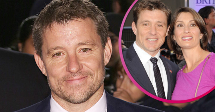 Ben Shephard and wife Annie