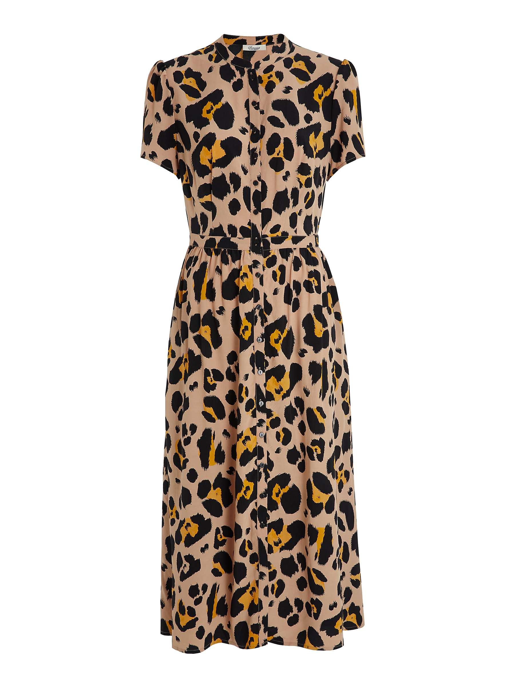 Ruth Langsford's leopard print dress