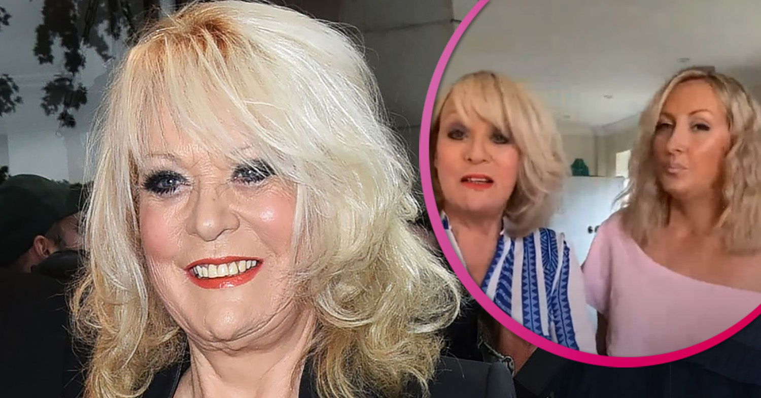 Sherrie Hewson calls daughter Keeley her 'rock' after beloved brother died