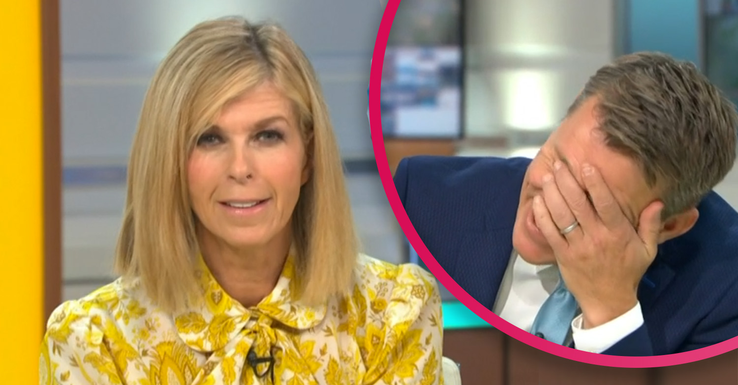 Kate Garraway suffers makeup malfunction during surprise GMB appearance