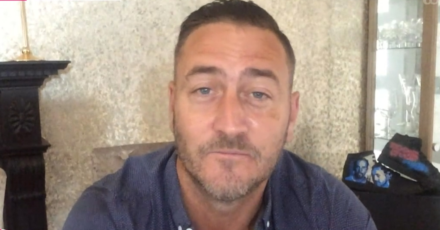 Will Mellor discusses how he's coping after dad's heartbreaking death during lockdown