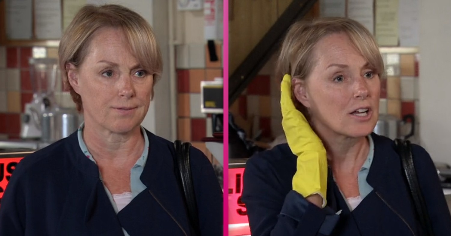 Coronation Street: Sally Metcalfe's coronavirus gloves have viewers obsessed