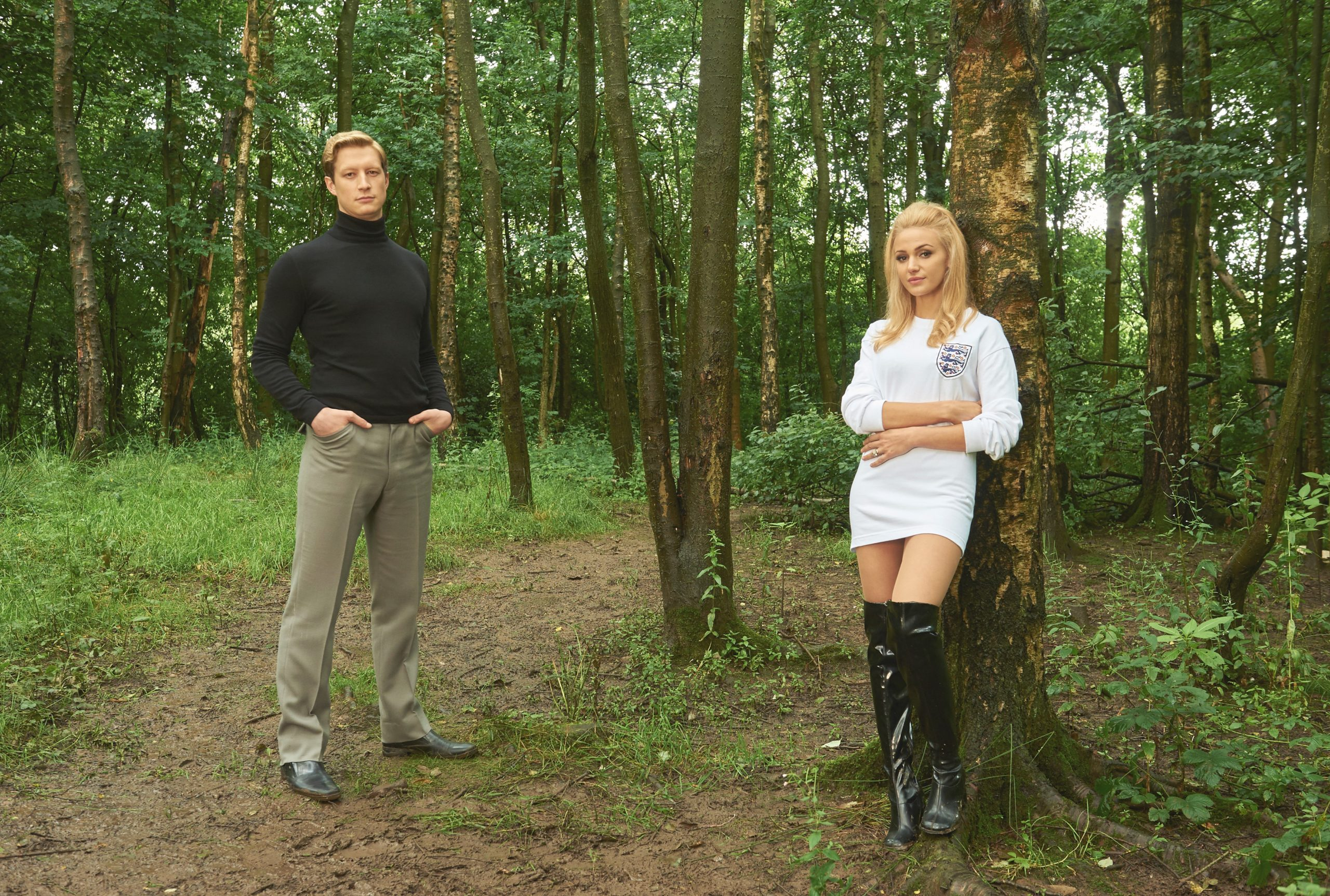 Tina and Bobby Michelle Keegan blonde hair
