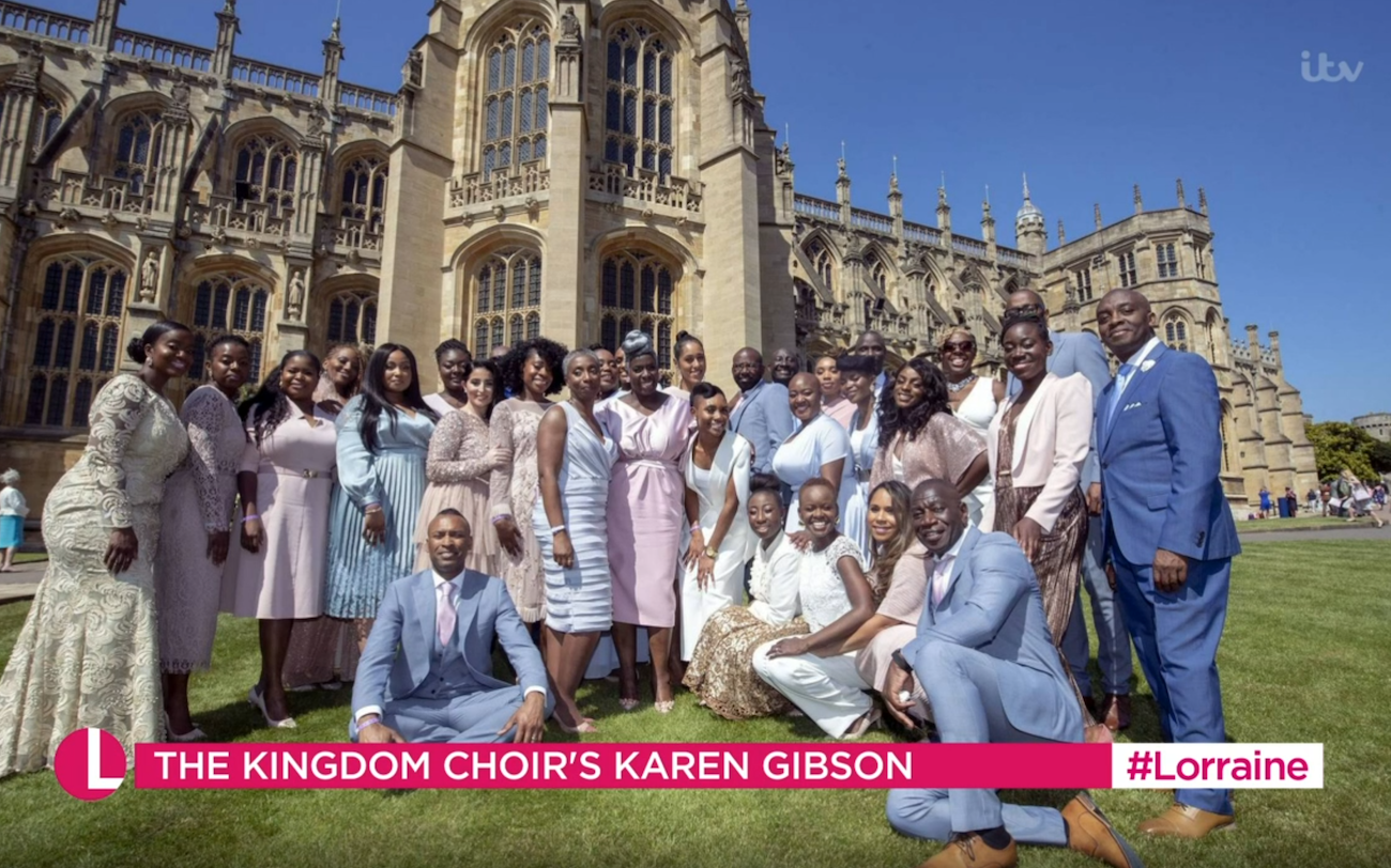 The Kingdom Choir Meghan Markle Prince Harry wedding