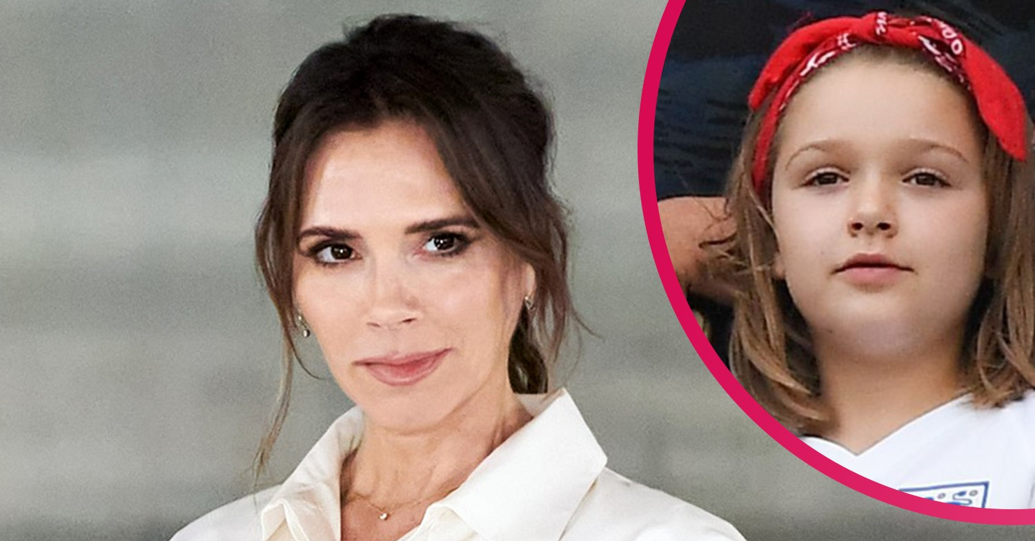 Victoria Beckham fans divided over photo of Harper in her favourite dress
