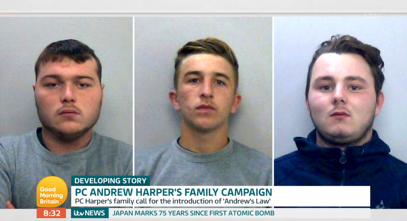 PC Andrew Harper killers