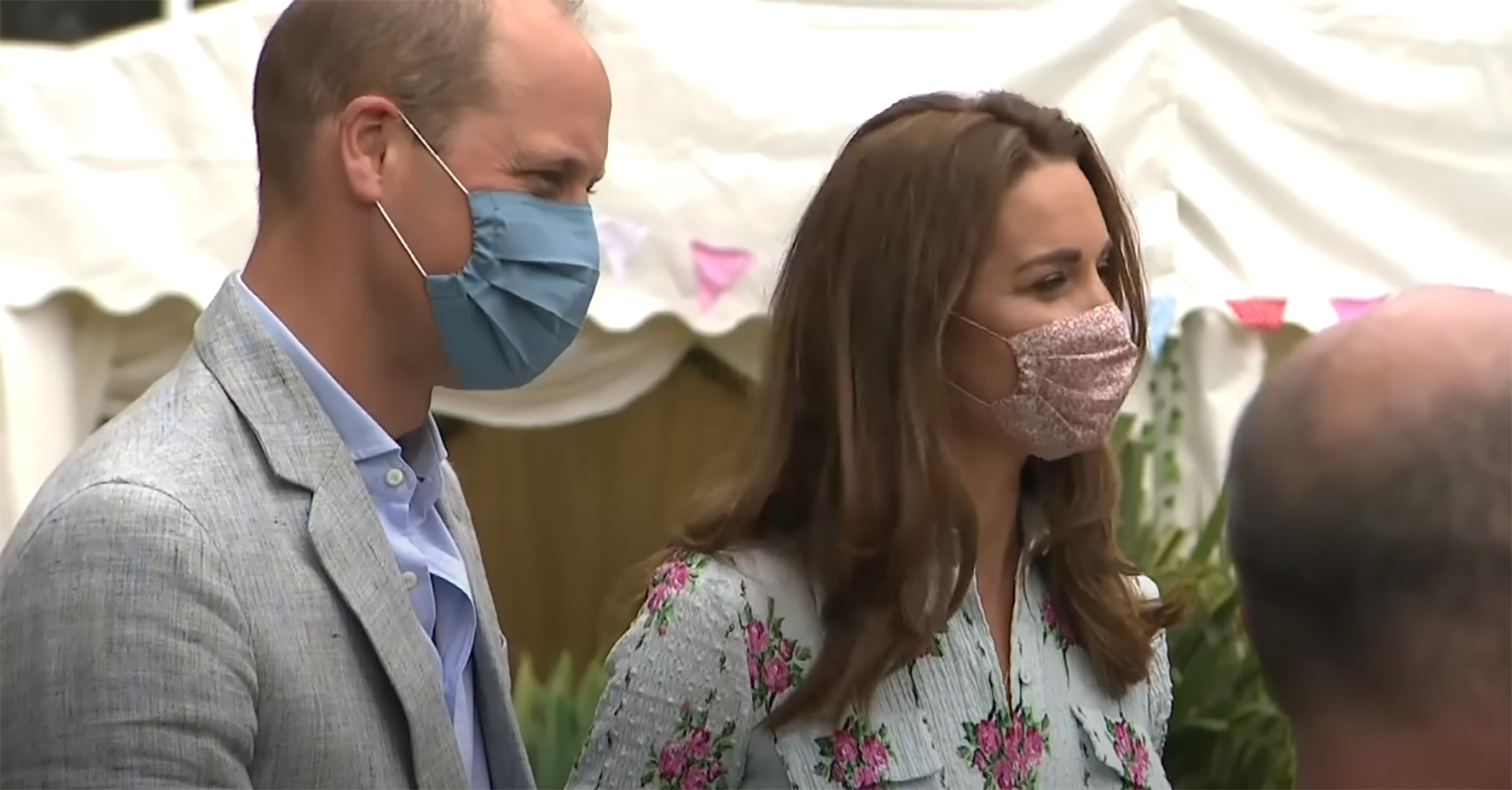 Prince William and Kate visit care home