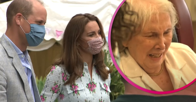 Prince William and Kate Middleton visit care home