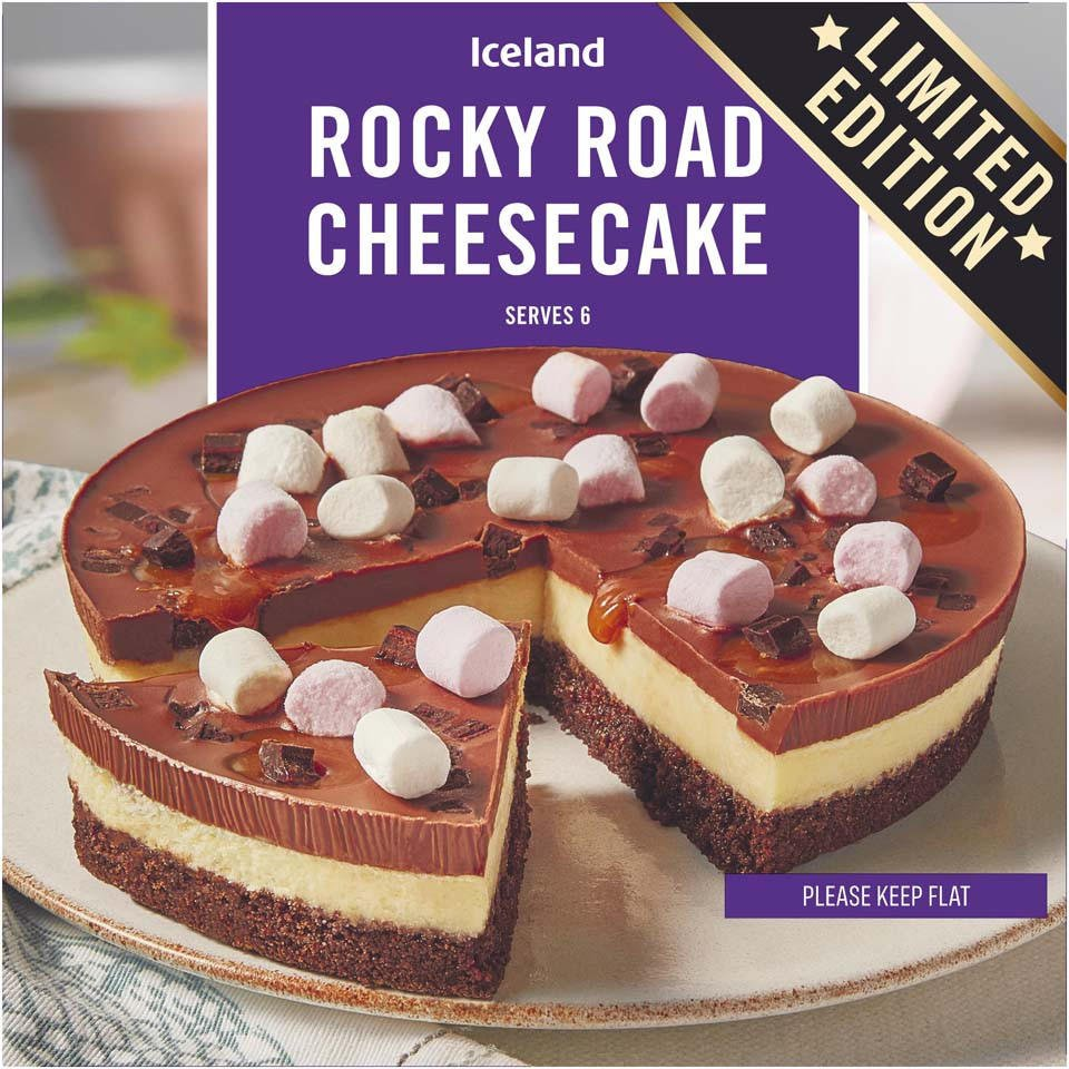 Iceland rocky road cheesecake