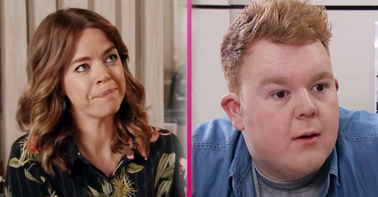 Coronation Street's Georgia Taylor jokes about fans telling Colson Smith 'he hasn't changed a bit'