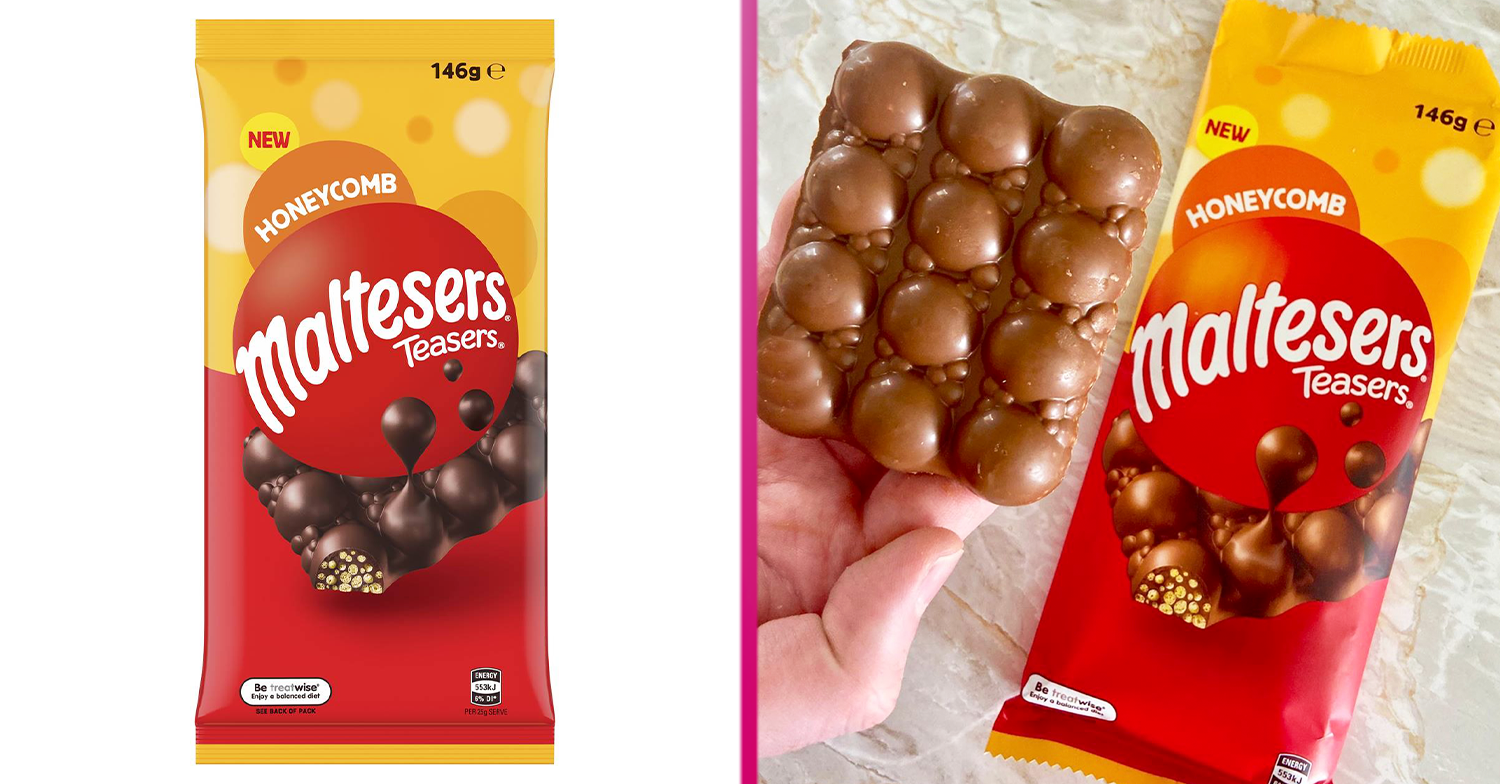 Honeycomb Maltesers Teasers bar goes on sale in the UK and it's 'incredible'
