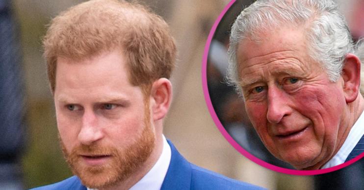 Prince Charles Prince Harry relationship