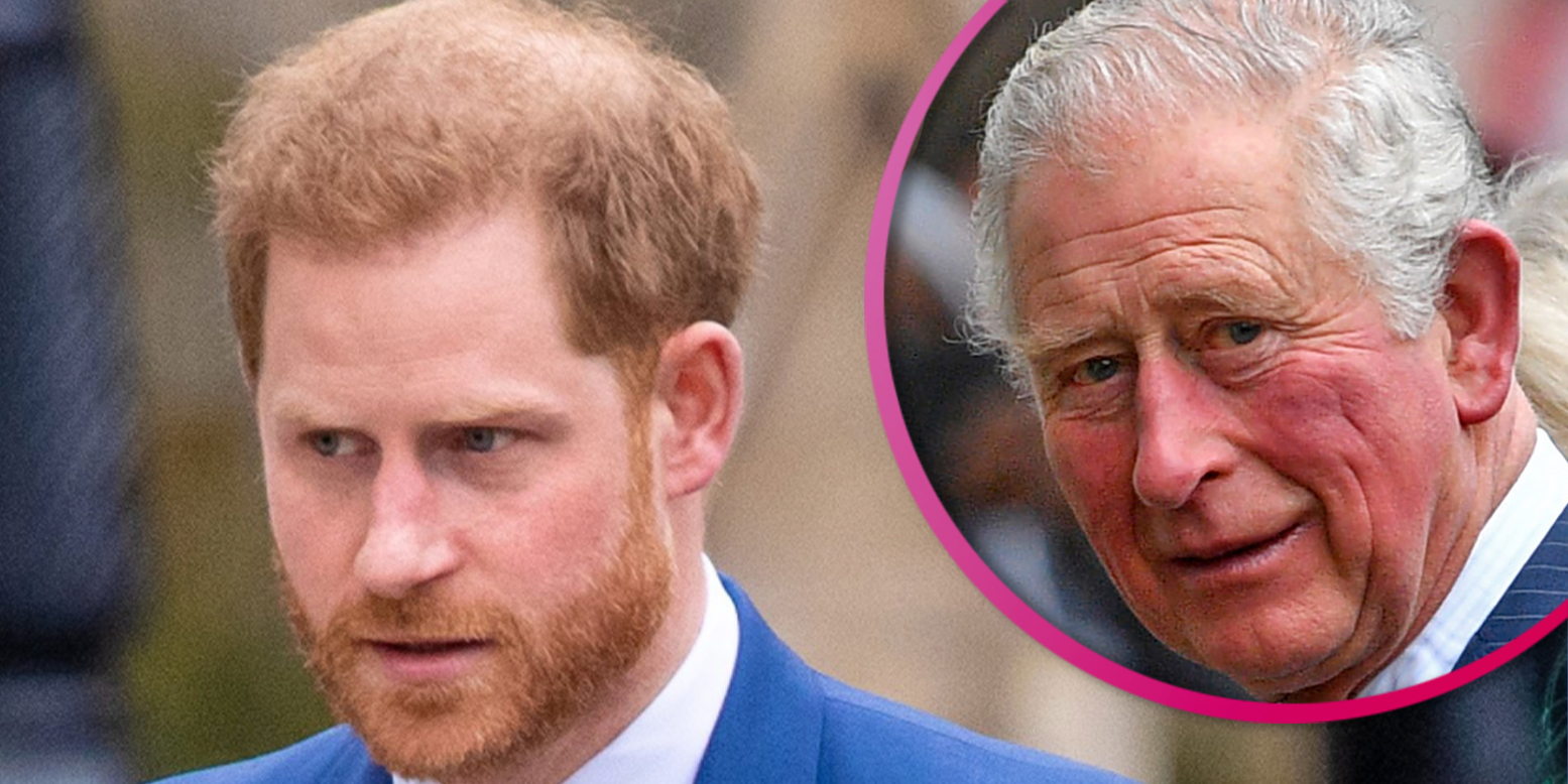 Prince Harry holding on to Prince Charles for emotional and financial support