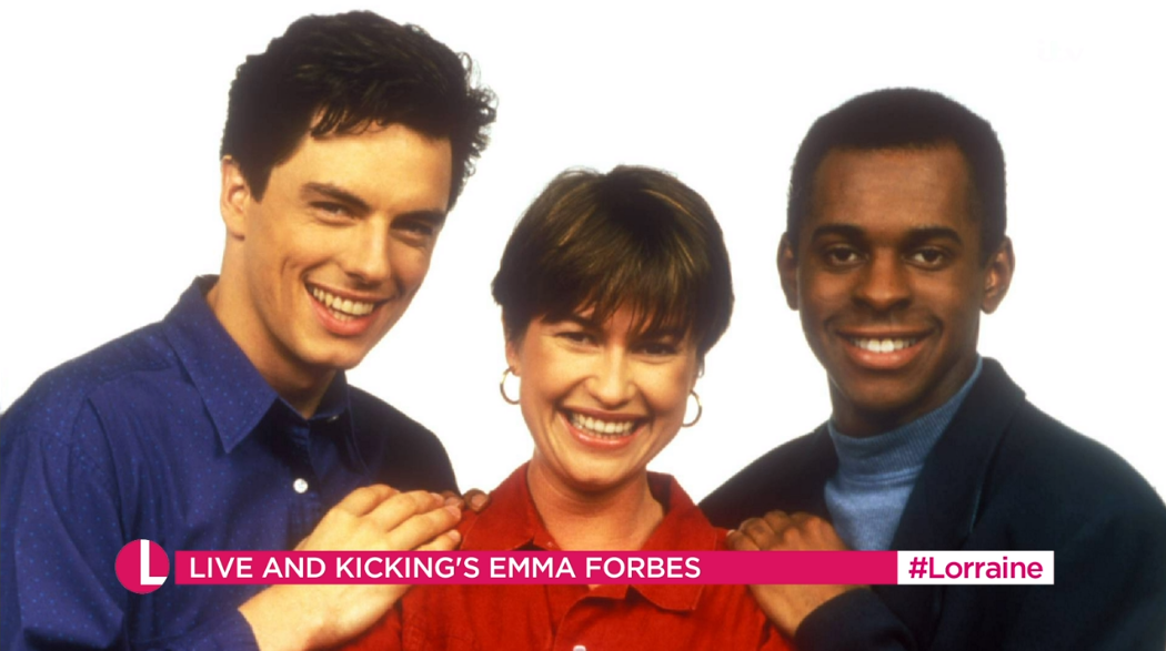 Andi Peters Lorraine (Credit: ITV)