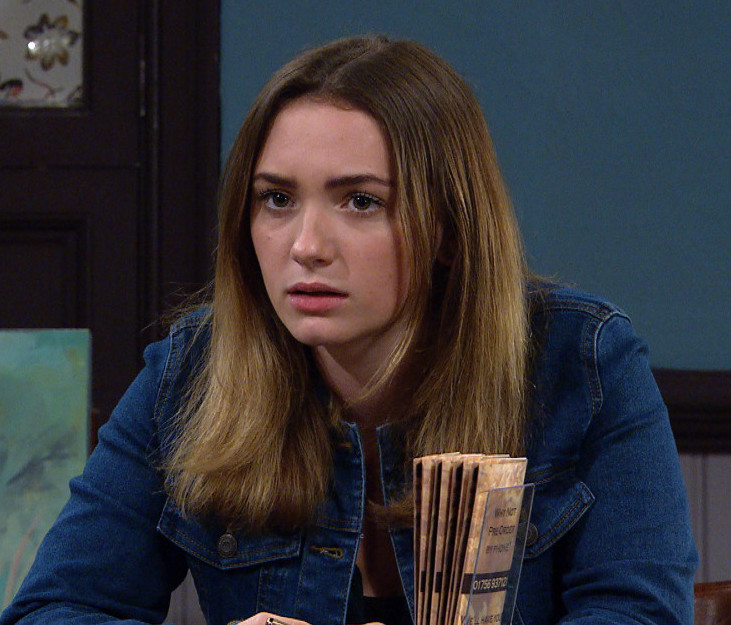 Gabby Thomas is in the cast of Emmerdale 2020 (Credit: ITV)