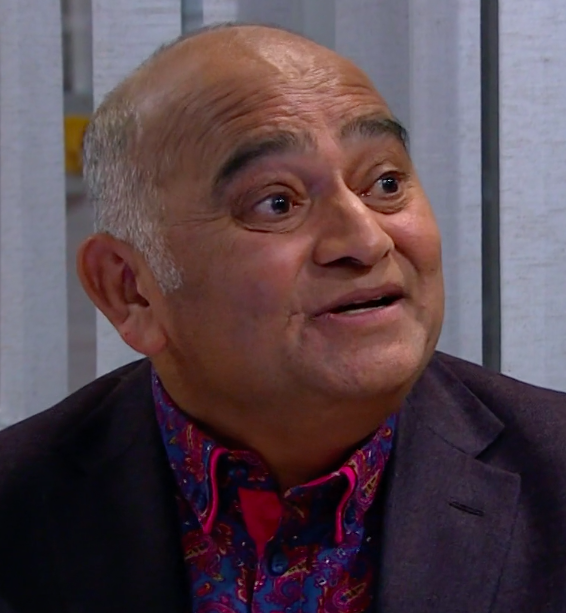 Rishi Sharma is in the cast of Emmerdale 2020 (Credit: ITV)