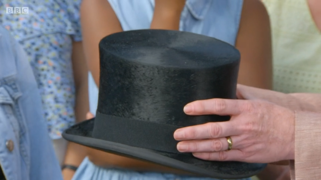 Antiques Roadshow Winston Churchill hat